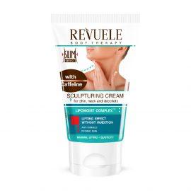 REVUELE® Sculptor Cream Met Cafeïne Voor Kin, Hals, Decolleté en Handen 150ml.