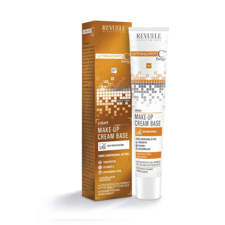 Afbeelding van REVUELE® VITANORM C+Energy Light make-up cream base, 50ml.