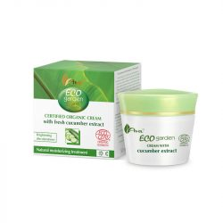 AVA Cosmetics - Eco Garden - Certified Organic Cream with cucumber 50ml.