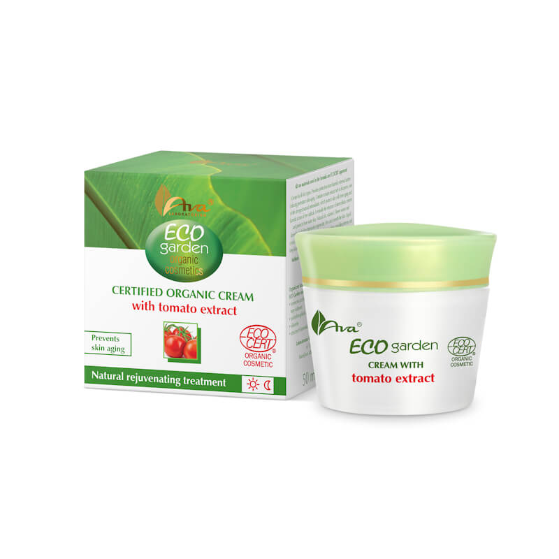 Afbeelding van AVA Cosmetics - Eco Garden 40+Certified Organic Cream with tomato 50ml.*