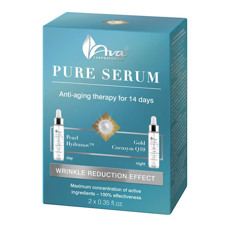 Afbeelding van AVA Cosmetics Pure Serum Anti-wrinkle Treatment 2x10ml.