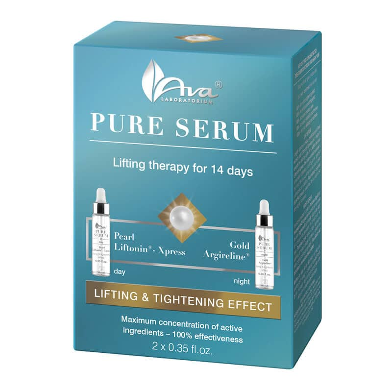 Afbeelding van AVA Cosmetics Pure Serum Lifting Treatment 2x10ml.