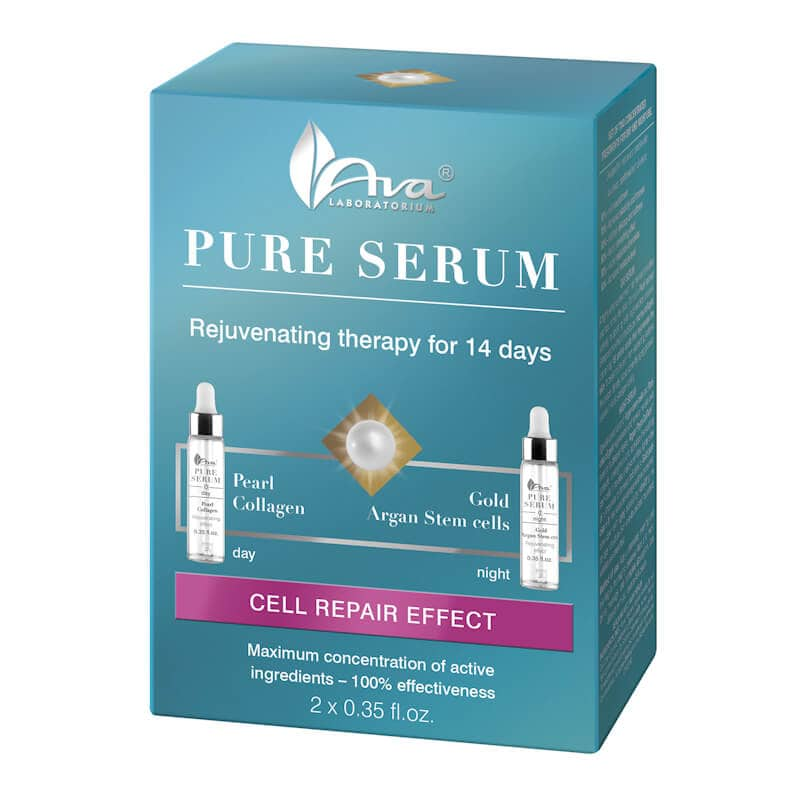 Afbeelding van AVA Cosmetics Pure Serum Rejuvenating Treatment 2x10ml.