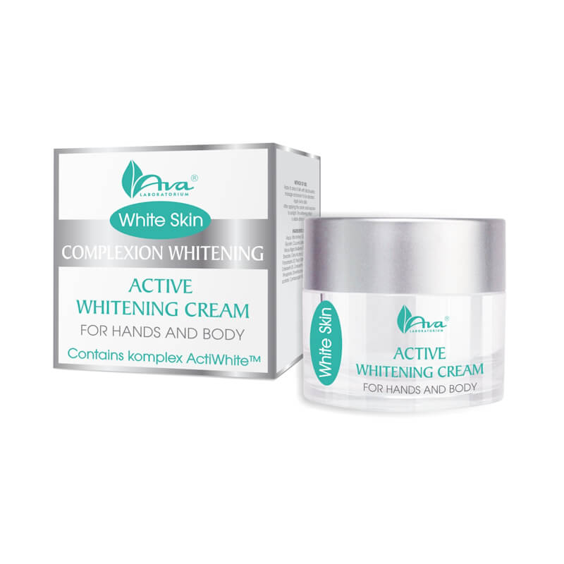 Afbeelding van AVA Cosmetics White Skin Active whitening Cream For Hands And Body 50ml.