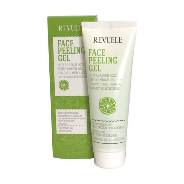 Afbeelding van Revuele Face Peeling Gel With Fruit AHA Acids 80ml.