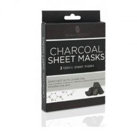Skin Academy Charcoal Sheet Masks
