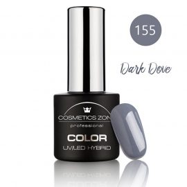 Cosmetics Zone UV/LED Hybrid Gel Nagellak 7ml. Dark Dove 155