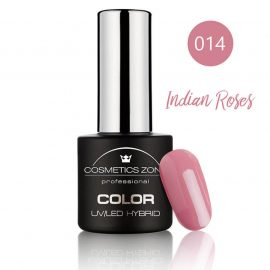 Cosmetics Zone UV/LED Hybrid Gel Nagellak 7ml. Indian Roses 014