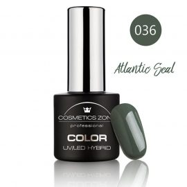 Cosmetics Zone UV/LED Hybrid Gel Nagellak 7ml. Atlantic Seal 036