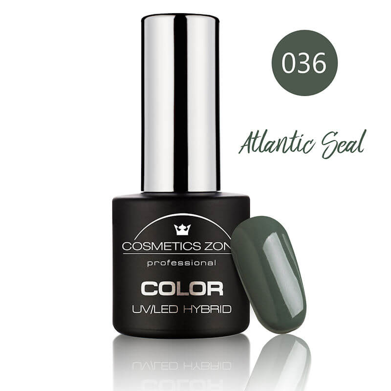 Afbeelding van Cosmetics Zone UV/LED Hybrid Gel Nagellak 7ml. Atlantic Seal 036