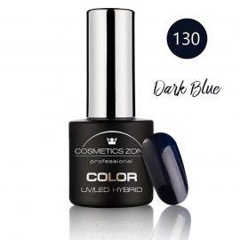 Cosmetics Zone UV/LED Hybrid Gel Nagellak 7ml. Dark Blue 130