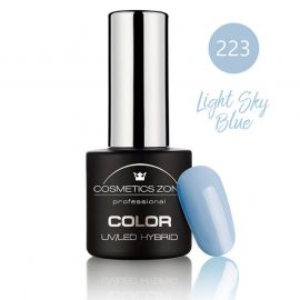 Cosmetics Zone UV/LED Hybrid Gel Nagellak 7ml. Light Sky Blue 223
