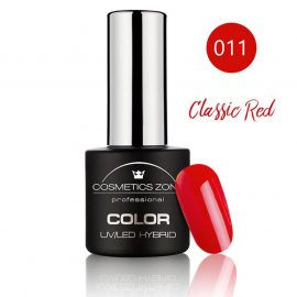 Cosmetics Zone UV/LED Hybrid Gel Nagellak 7ml. Classic Red 011