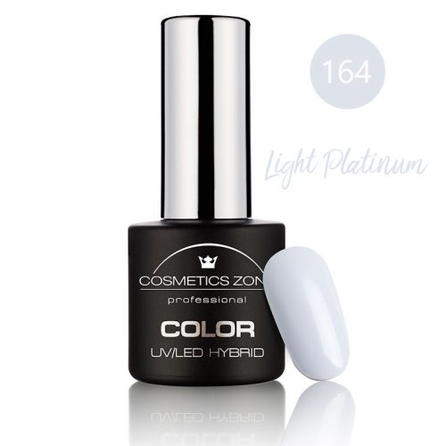 Cosmetics Zone UV/LED Hybrid Gel Nagellak 7ml. Light Platinum 164