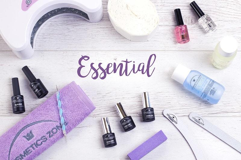Afbeelding van Cosmetics Zone Essential Hybride Manicure SET #3
