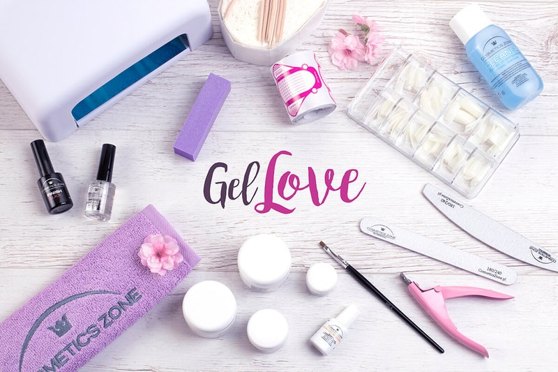 Afbeelding van Cosmetics Zone Gel Love Nagel Kit met Violet Lamp