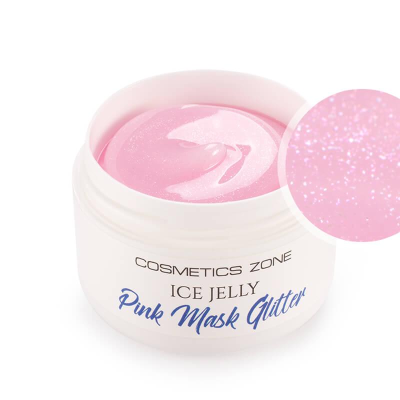 Afbeelding van Cosmetics Zone ICE JELLY - Pink Mask Glitter