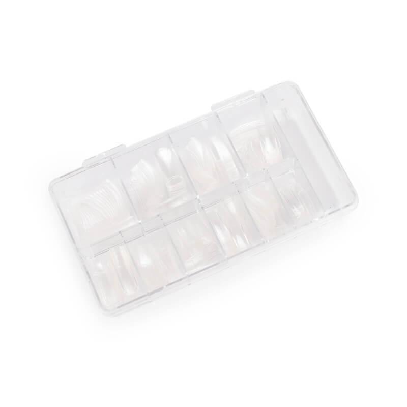 Afbeelding van Cosmetics Zone Nagel Tip Box Met Tips Clear 120stuks