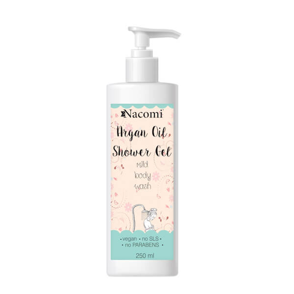 Afbeelding van Nacomi Argan Oil Shower Gel 250ml.