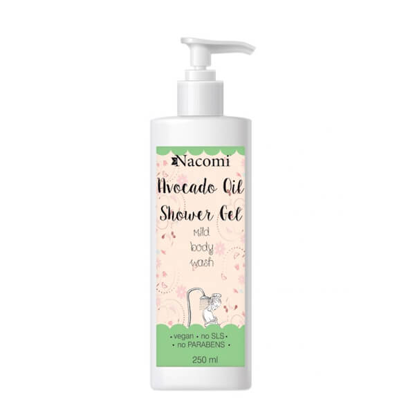 Afbeelding van Nacomi Avocado Oil Shower Gel 250ml.