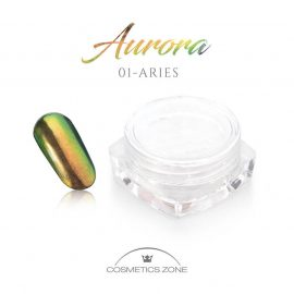 Cosmetics Zone Nail Powder Aurora Effect #1 ARIES