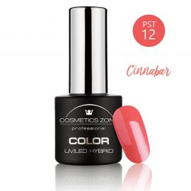 Cosmetics Zone UV/LED Hybrid Gel Nagellak 7ml. Cinnabar PST12
