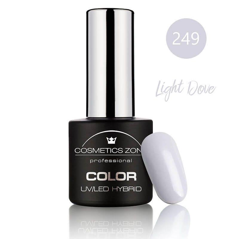 Afbeelding van Cosmetics Zone UV/LED Hybrid Gel Nagellak 7ml. Light Dove 249