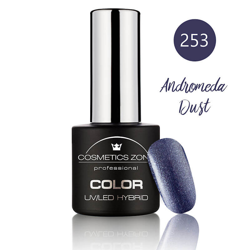 Afbeelding van Cosmetics Zone UV/LED Hybrid Gel Nagellak 7ml. Andromeda Dust 253