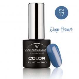 Cosmetics Zone UV/LED Hybrid Gel Nagellak 7ml. Deep Ocean PST17