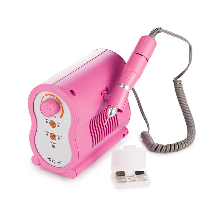 Afbeelding van Cosmetics Zone Manicure / Pedicure Freesmachine 65W Pink