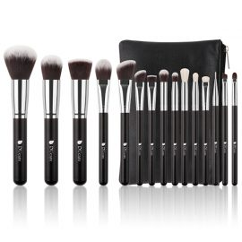 Dermarolling 15-Delige Make Up Kwasten Set DF1503