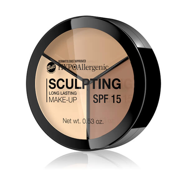 Afbeelding van Hypoallergenic - Hypoallergene Long Lasting Sculpting Make-up #02