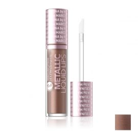 Hypoallergenic - Hypoallergene Metallic Liquid Lips #02 Malbork