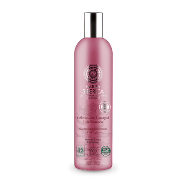 Afbeelding van Natura Siberica Coloured And Damaged Hair Shampoo 400ml.