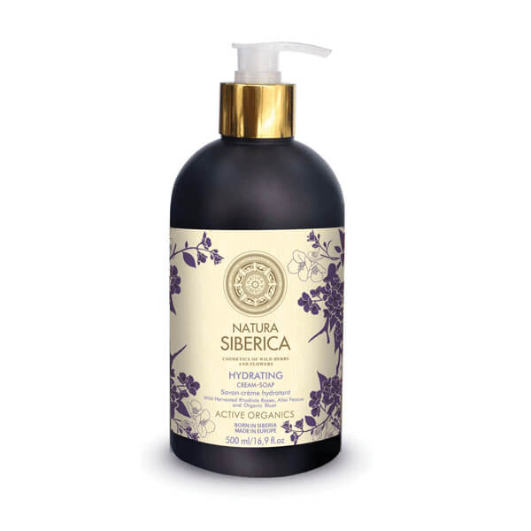 Afbeelding van Natura Siberica Hydrating Cream-Soap 500ml.