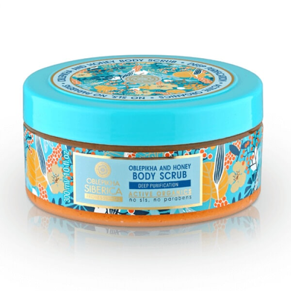 Afbeelding van Natura Siberica Oblepikha And Honey Body Scrub 300ml.