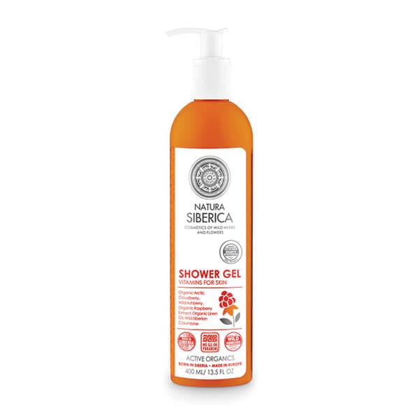 Afbeelding van Natura Siberica Shower Gel Vitamin For Skin 400ml.