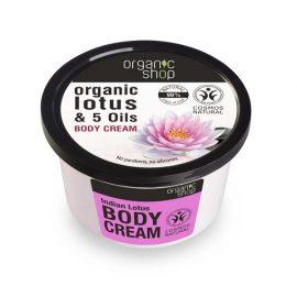 Organic Shop Body Cream Indian Lotus 250ml.