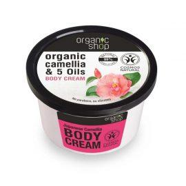 Organic Shop Body Cream Japanese Camellia 250ml.