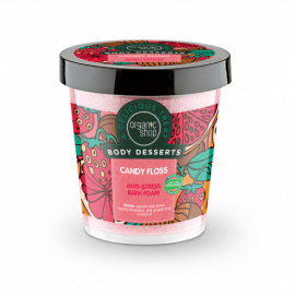 Organic Shop Body Desserts Candy Floss Anti-Stress Bath Foam 450ml.