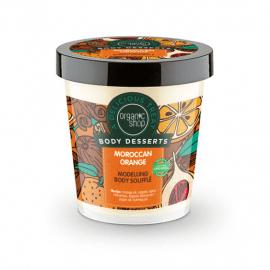 Organic Shop Body Desserts Moroccan Orange Modelling Body Soufflé 450ml.
