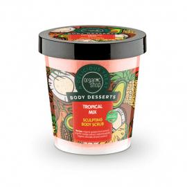 Organic Shop Body Desserts Tropical Mix Sculpting Body Scrub 450ml.
