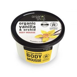 Organic Shop Body Mousse Bourbon Vanilla 250ml.