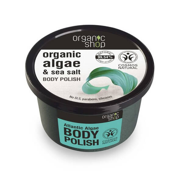 Afbeelding van Organic Shop Body Polish Atlantic Algae 250ml.