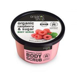 Organic Shop Body Scrub Raspberry Cream