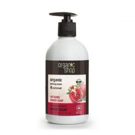 Organic Shop Vitamin Hand Soap Pomegranate Bracelet 500ml.