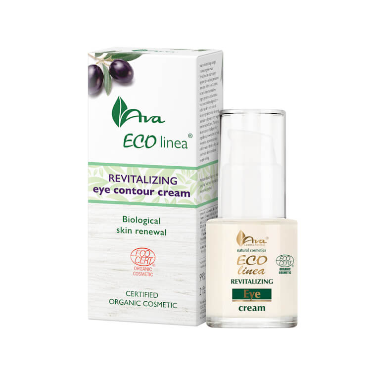 Afbeelding van AVA Cosmetics Eco Linea Revitalizing Eye Contour Cream 15ml.