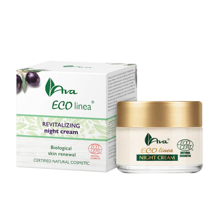 Afbeelding van AVA Cosmetics Eco Linea Revitalizing Night Cream 50ml.