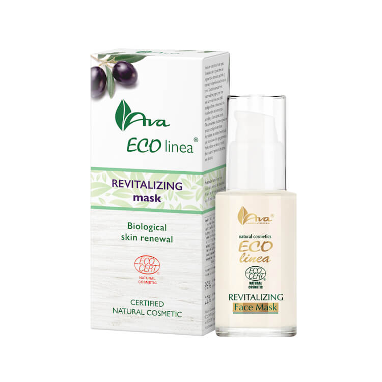 Afbeelding van AVA Cosmetics - Eco Linea - Revitalizing Self Absorbing Face Mask 30ml.