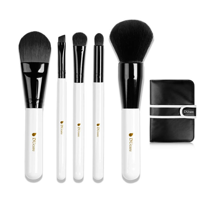 Afbeelding van Dermarolling 5-Delige Make Up Kwasten Set U502